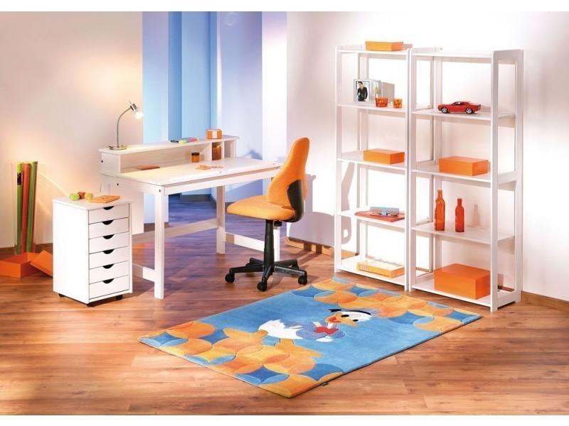 freddy caisson de bureau sur roulettes blanc conforama. Black Bedroom Furniture Sets. Home Design Ideas
