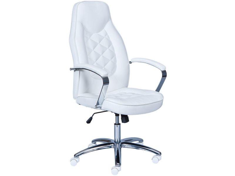 Bureau Moderne Conforama Chaise Vente En Pvc Comforium Blanche De PuXkZi