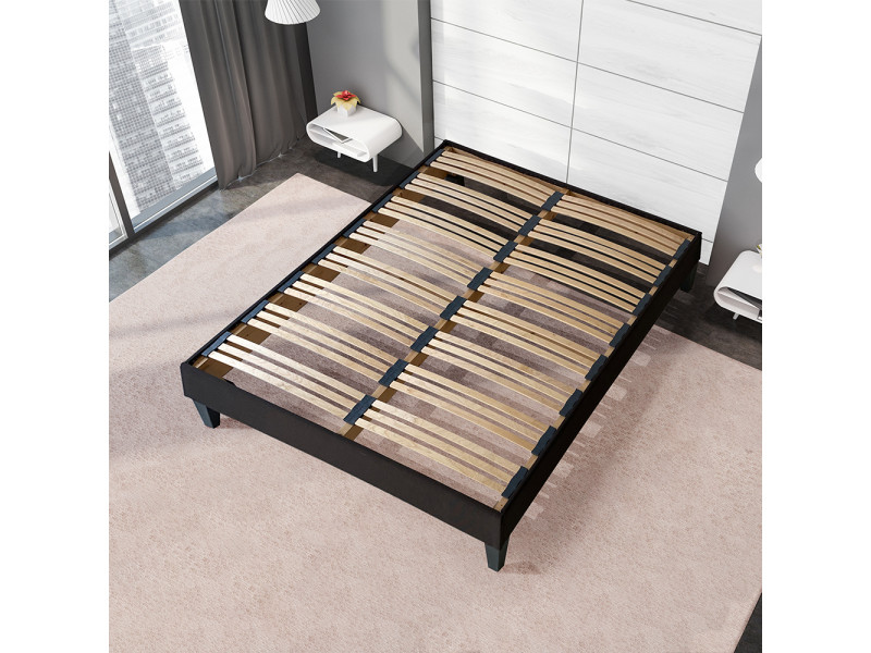 sommier a lattes apparentes kit 15 cm vente de olympe literie conforama. Black Bedroom Furniture Sets. Home Design Ideas