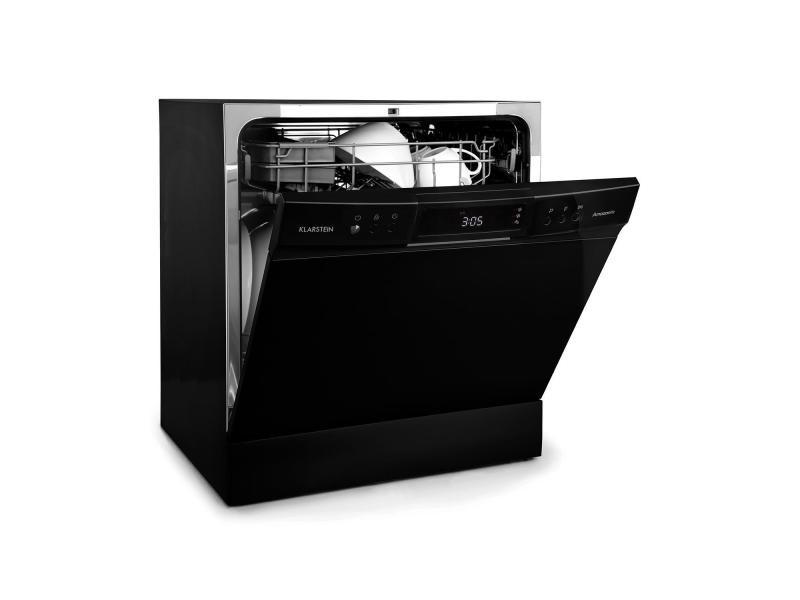 Klarstein amazonia lave-vaisselle de table 8 programmes classe a+ - noir