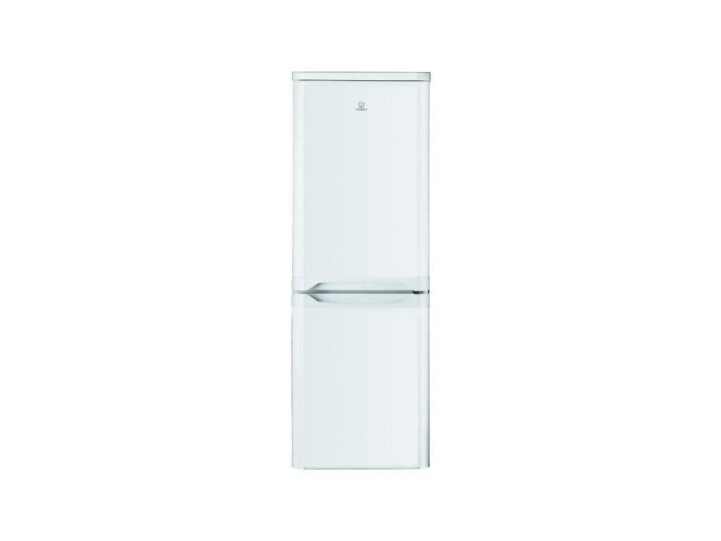 Indesit ncaa55 - refrigerateur congelateur bas - 217l 150+67 - froid statique - a+ - l 55cm x h 157cm - blanc INDESNCAA55