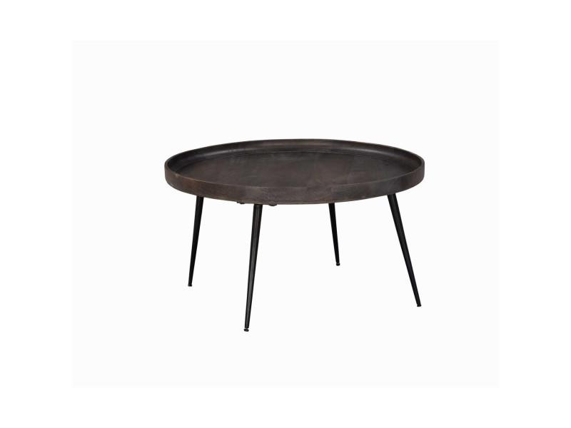 Subleem table basse bois mumbai gris
