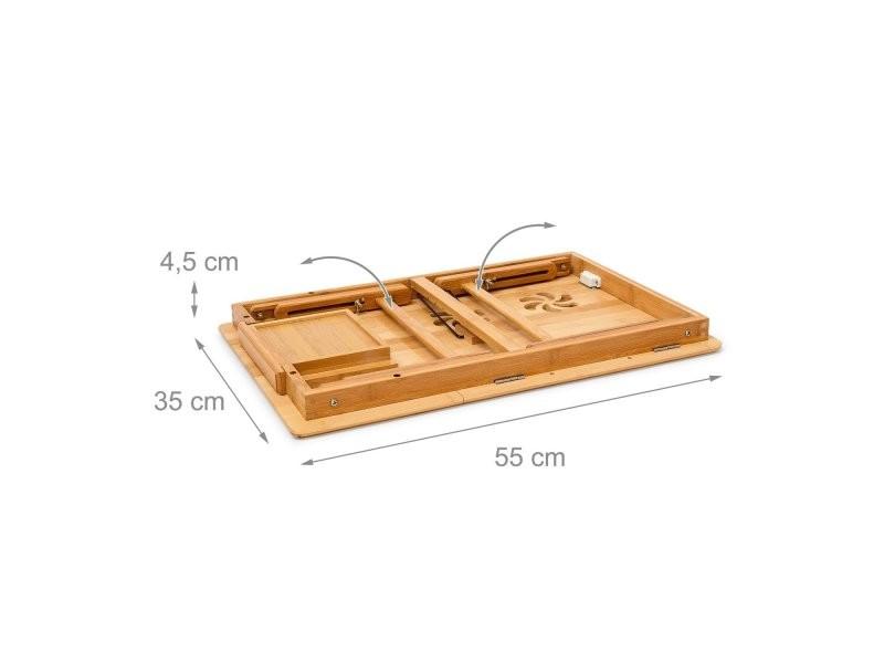 table tablette support de lit pour ordinateur portable helloshop26 2013052 vente de chevet. Black Bedroom Furniture Sets. Home Design Ideas