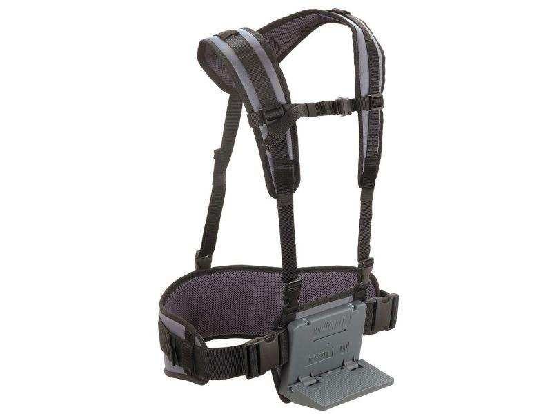 Admirable accessoires pour bagages gamme monrovia wolfcraft harnais de portage noir 5582000