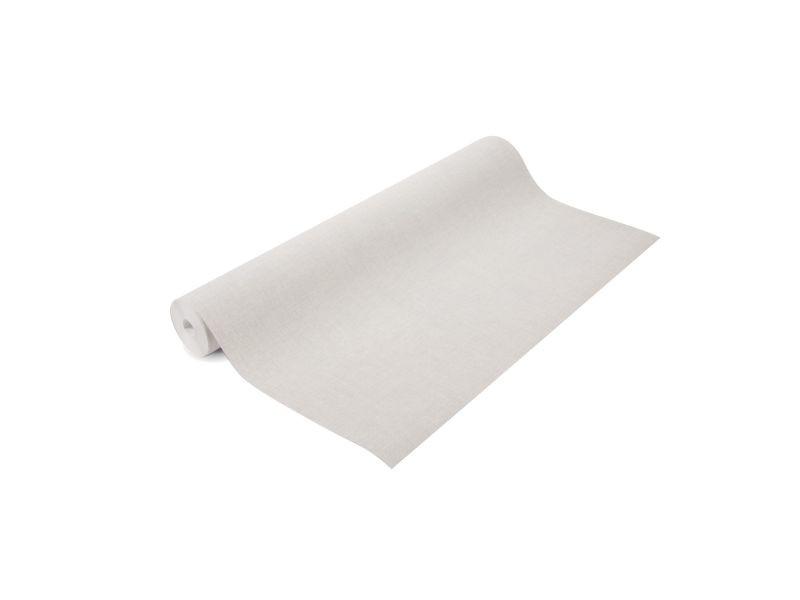 Papier peint intissé melle uni 1005 x 52cm blanc 105961