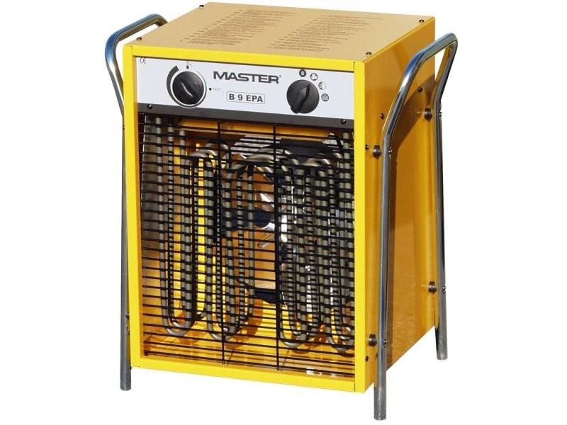 radiateur chauffage soufflant lectrique 800 m h jaune bricolage atelier chantier 3902040. Black Bedroom Furniture Sets. Home Design Ideas