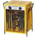 Radiateur chauffage soufflant électrique 800 m³/h jaune bricolage atelier chantier helloshop26 3902040