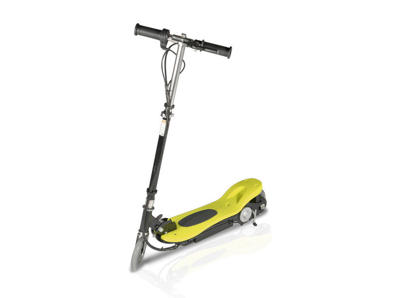 Trottinette électrique pliable piki 120 watts - jaune