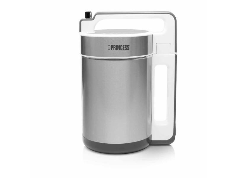 Princess mélangeur à soupe 1150 w argenté et blanc 212042 422293