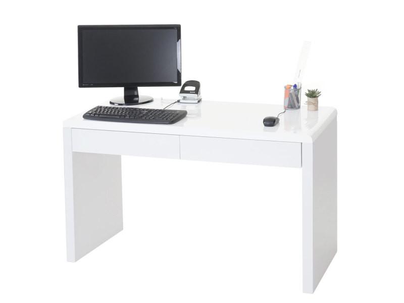Bureau design edmonton table de bureau ordinateur poli fin