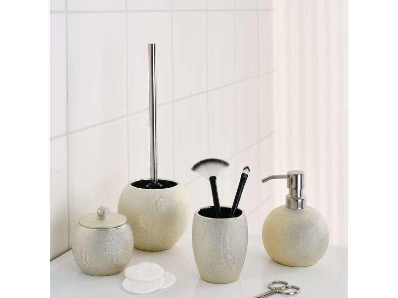 Ridder brosse de toilette avec support lucida doré 429711