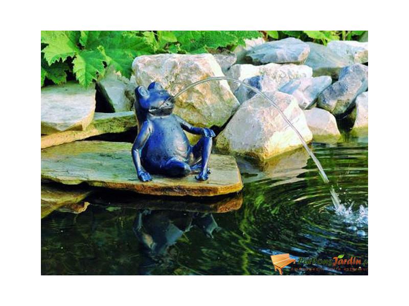 Figurine de bassin en polyrésine gargouille grenouille i