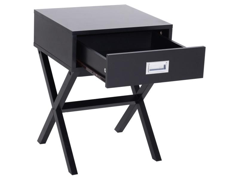 Chevet table de nuit design contemporain dim. 40l x 40l x ...