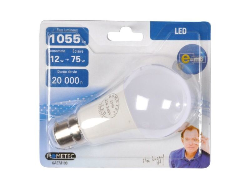 Paris prix - ampoule led b22 \