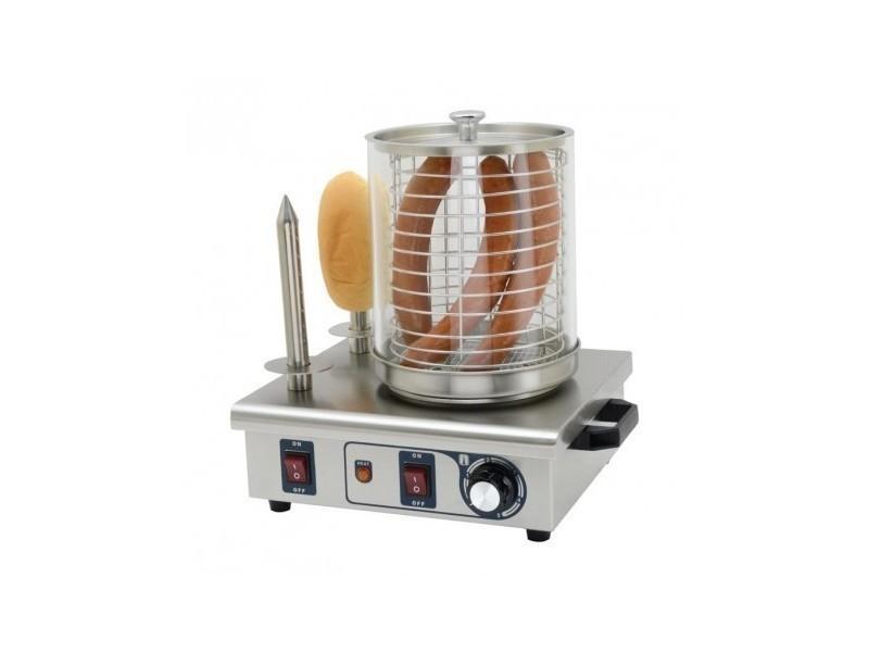 Machine à hot dog 2 plots