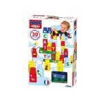 Briques de construction maxi abrick : pack de 30 lettres