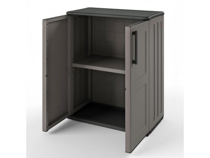 armoire outils en plastique 84 x 68 cm vente de bureau composer conforama