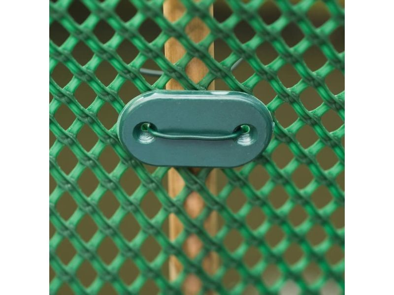 Nature kit de fixation pour clôture de jardin 27 pcs vert 419792