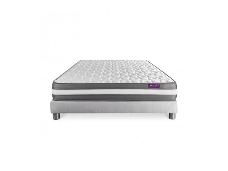 matelas sommier 160x200 memo plus m moire de forme 3 zones 7nmemopens160200 vente de. Black Bedroom Furniture Sets. Home Design Ideas