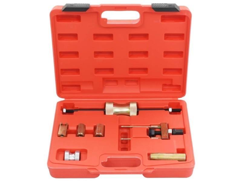 Icaverne - outils à main gamme kit d'outils d'extraction d'injecteur laser acier au carbone
