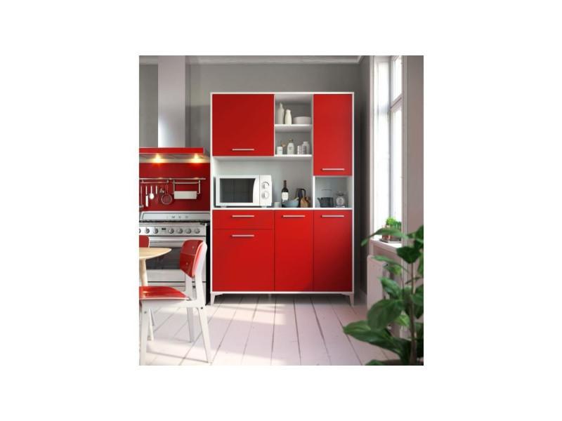Eco buffet de cuisine l 120 cm - rouge mat T75311MM09LVO