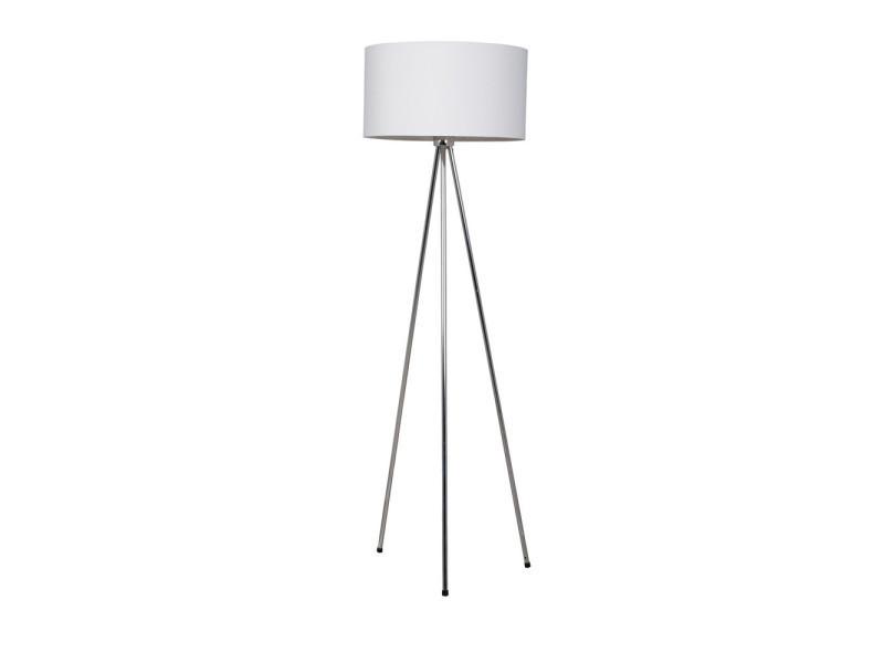 perfect cool lampadaire trpied design twist couleur blanc vente de lampadaire conforama with. Black Bedroom Furniture Sets. Home Design Ideas