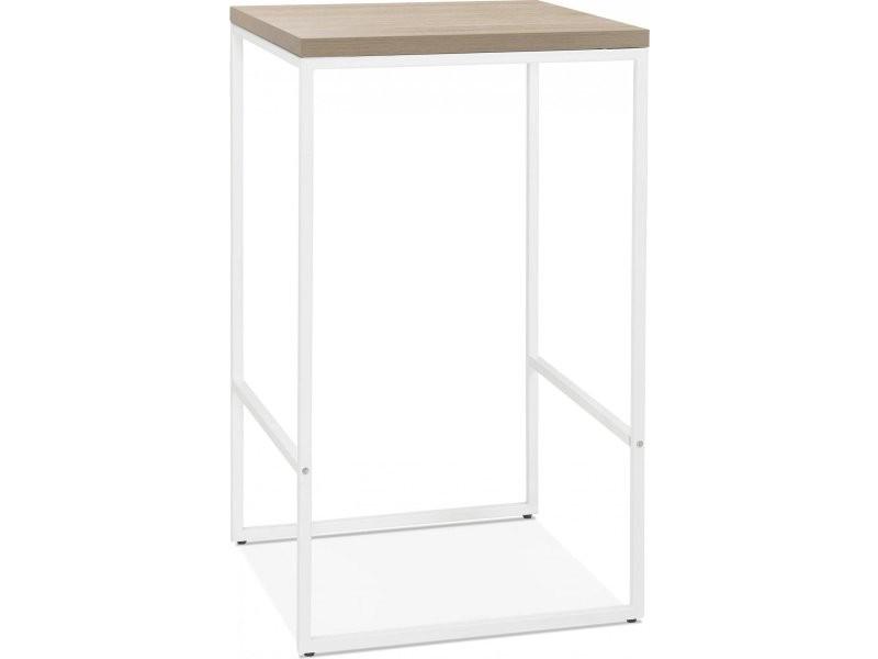 Table bar design tikafe BT00410NAWH