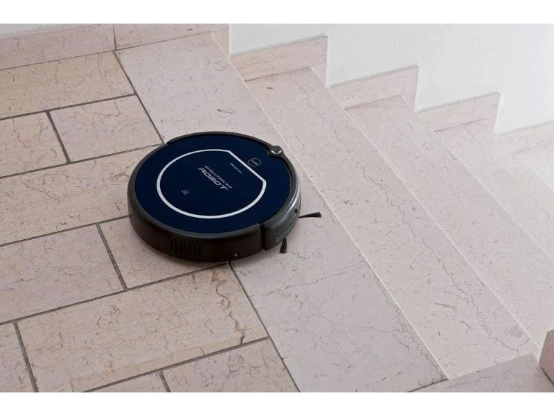 Aspirateur robot de 0,5l 25w noir bleu