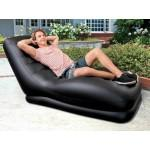 Fauteuil gonflable black lounge
