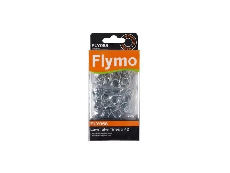 Flymo - dent de rechange fly058 pour aérateur lawn rake 3400 504807001