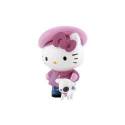 Hello kitty figurine avec chien