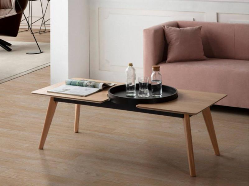 Bobochic table basse nori chêne clair