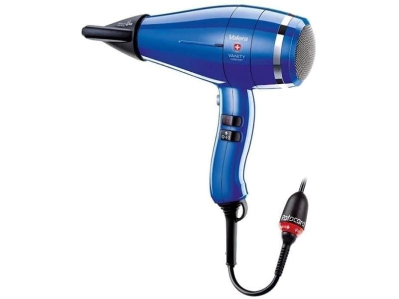 Valera - vanity comfort blee - seche cheveux pro 2000 w - silencieux - leger -puissant VAL9931262036067