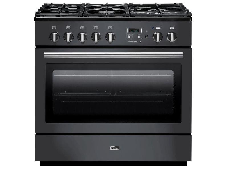 Piano de cuisson mixte 114l 5 feux noir - prop90fxdfslceu prop90fxdfslceu