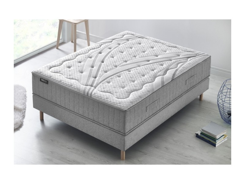 matelas boh me chic m moire de forme gel m moire de forme latex 28 cm 160x200 5412618099553. Black Bedroom Furniture Sets. Home Design Ideas