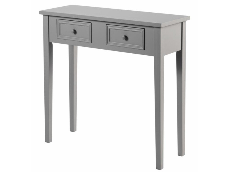 Interesting console tiroirs charme taupe with console - Table console extensible fly ...