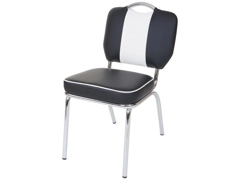 6x chaise de salle à manger avellino, fauteuil avec dossier, style ...