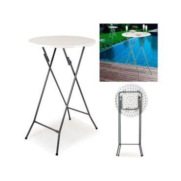 table haute de bar pliante mange debout vente de id. Black Bedroom Furniture Sets. Home Design Ideas