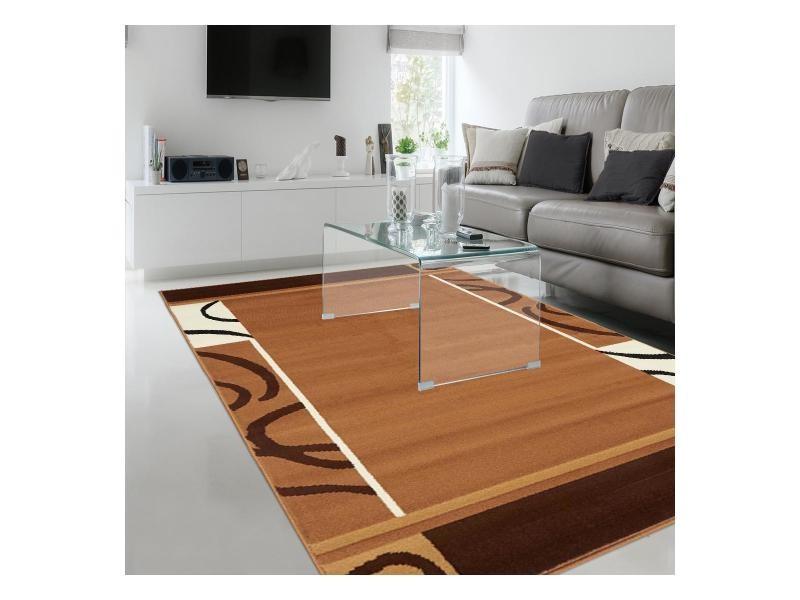 Tapis chambre bc espace marron 160 x 225 cm fabriqué en europe tapis ...
