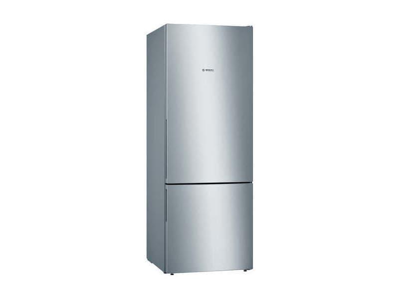 Réfrigérateur combiné 376l froid brassé bosch 70cm, kgv58vleas BOS4242005155439