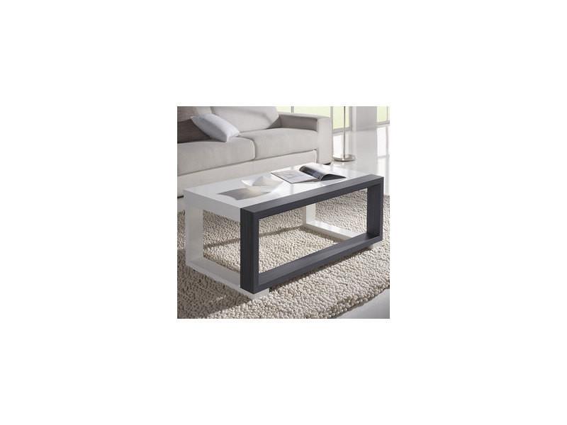 Table Basse Relevable Blanche Et Grise Moderne Correze 3 Vente De