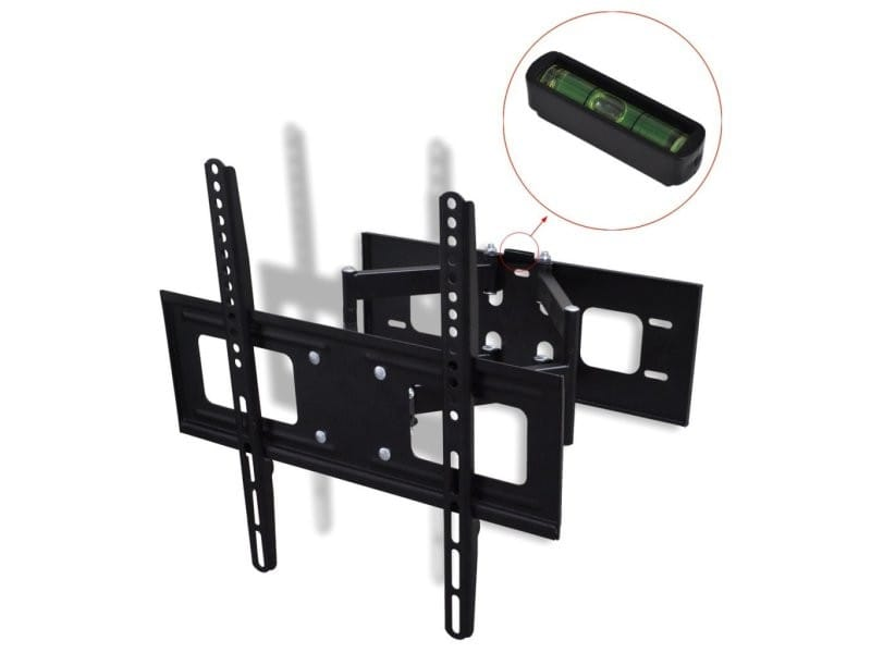 Support mural tv orientable et inclinable 37 55 pouces lcd plasma helloshop26 2502006 vente - Support mural tv inclinable et orientable ...