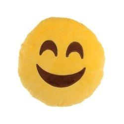 Peluche coussin moelleux emoji sourire content