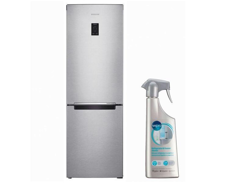 samsung r frig rateur frigo combine inox 328l a froid. Black Bedroom Furniture Sets. Home Design Ideas