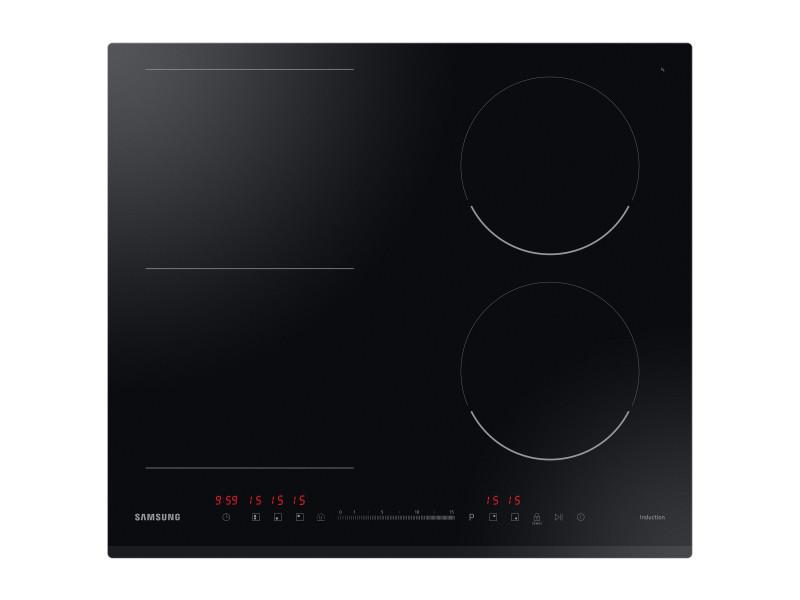Samsung nz64r3747bk noir intégré (placement) 60 cm plaque avec zone à induction 4 zone(s)