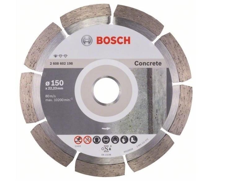 Bosch - disque diamant spécial béton dur et armé pour meuleuses ø150mm