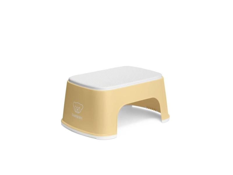 Marchepied, jaune pastel/blanc BAB7317680612663