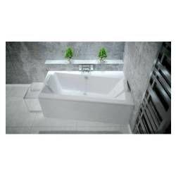 Baignoire et douche hydromassantes salle de bain - Baignoire d angle avec tablier ...