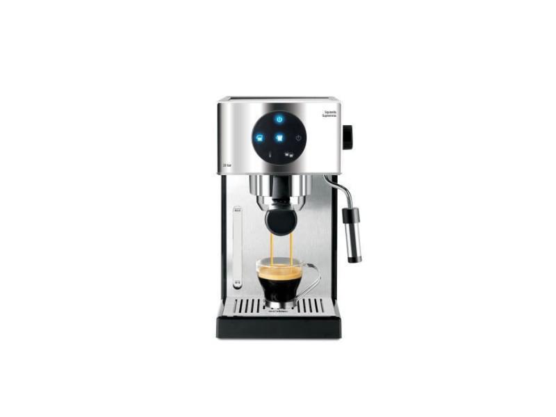 Solac squissita supremma - machine a expresso compacte - 1000w - 20 bars - systeme double cream - commande led - chauffe tasse i