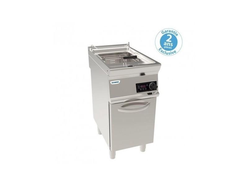 Friteuse sur coffre électrique - 17 litres - commandes électroniques- tecnoinox -